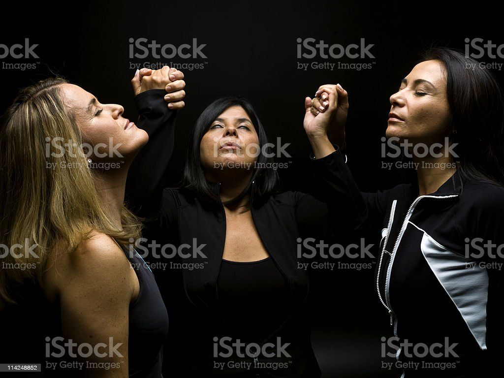 witchcraft session stock photo