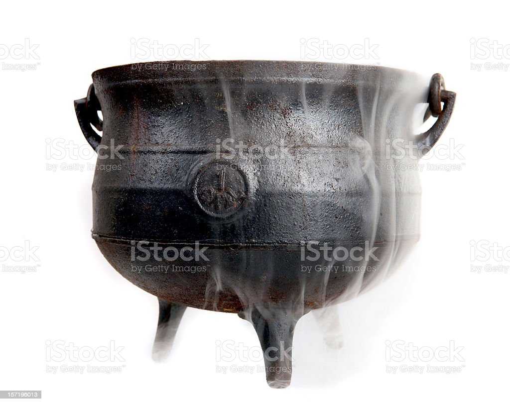 Witches brew stock photo