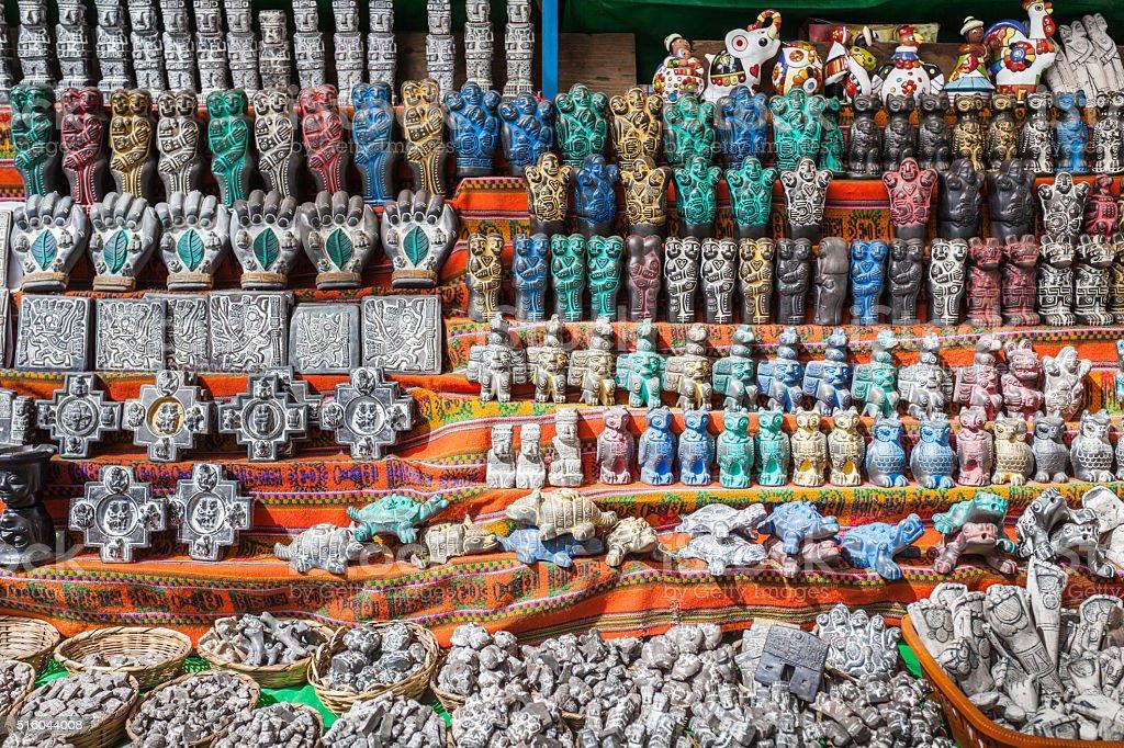 Witches Market stock photo