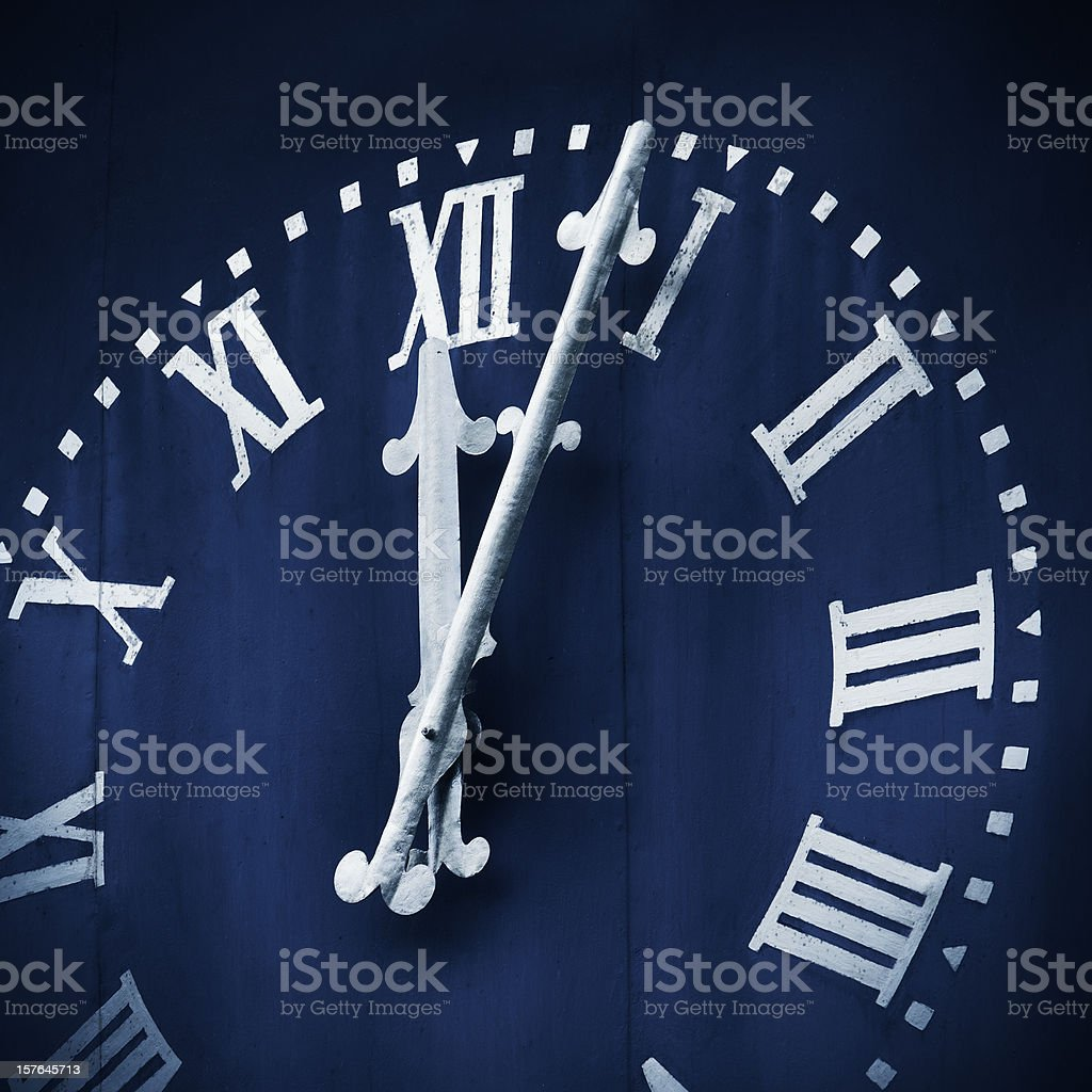 Witching hour stock photo