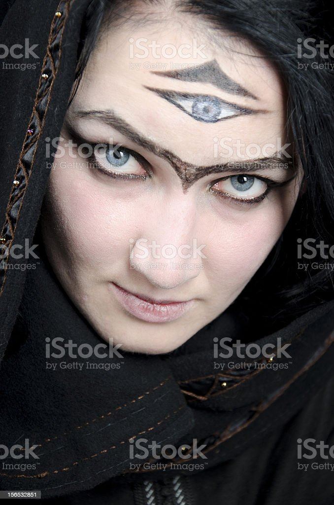 Witch/Magician royalty-free stock photo