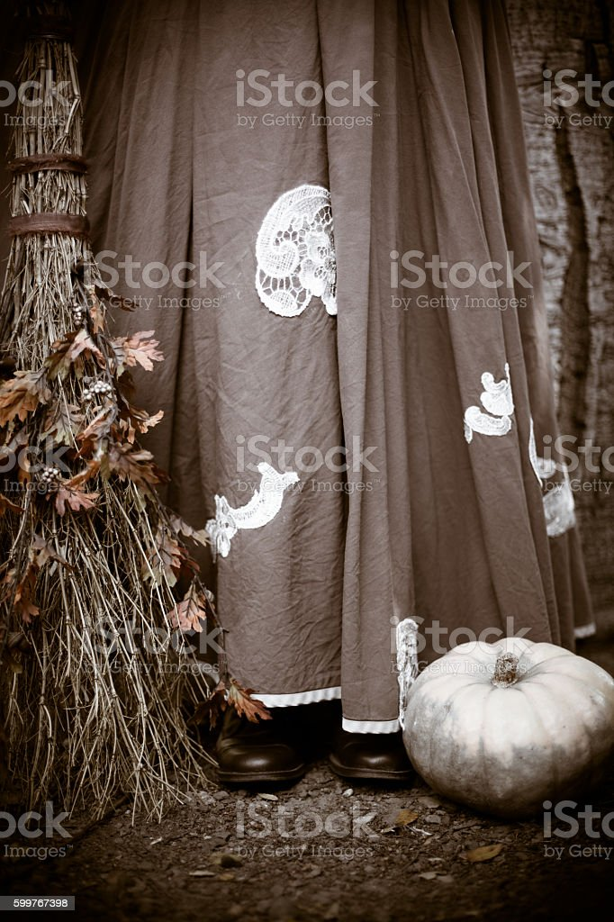 Witch's Skirt stock photo