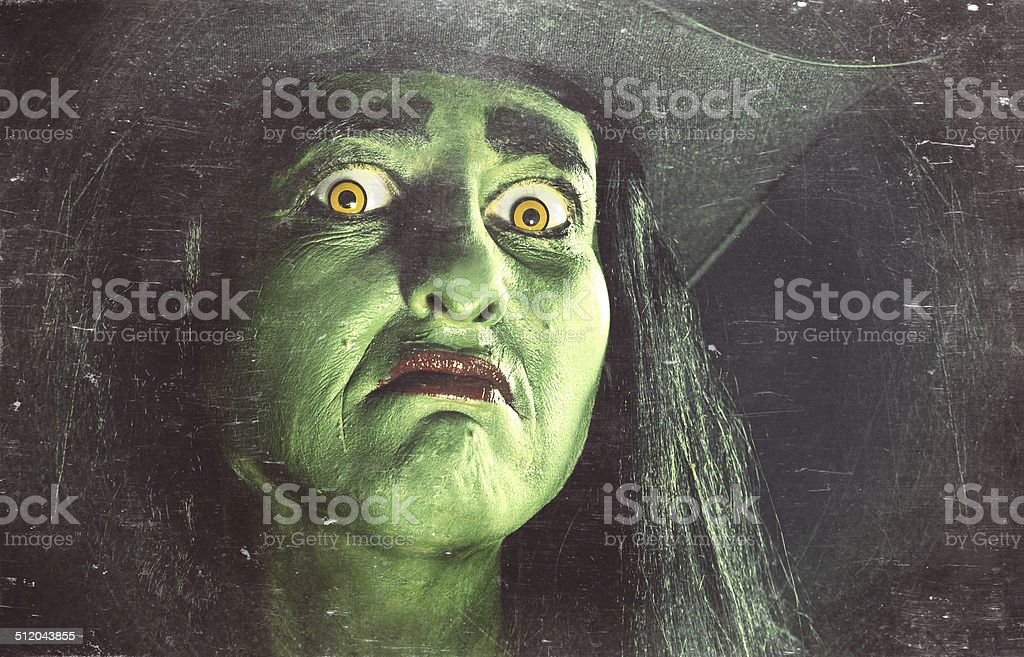 Witch's Stare stock photo