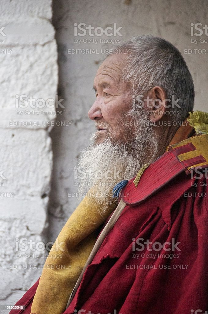 With Age Comes Wisdom royalty-free stock photo