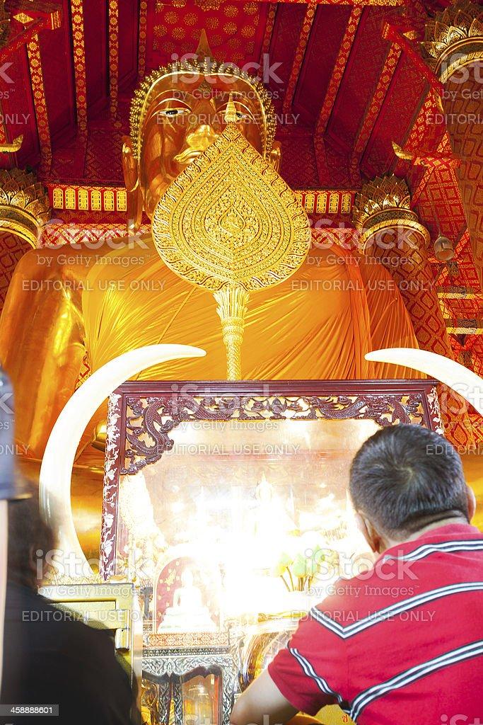 With buddha royalty-free stock photo