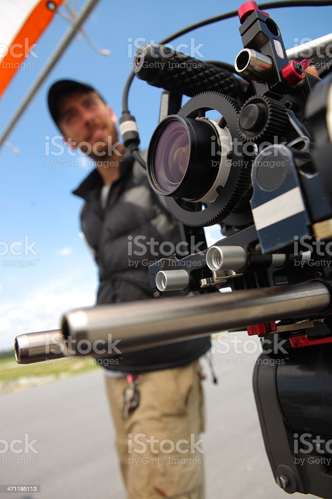 DP with Camera stock photo