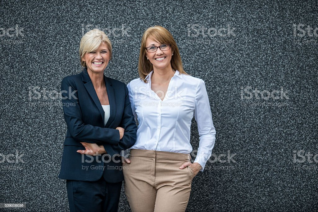 With confidence comes success stock photo
