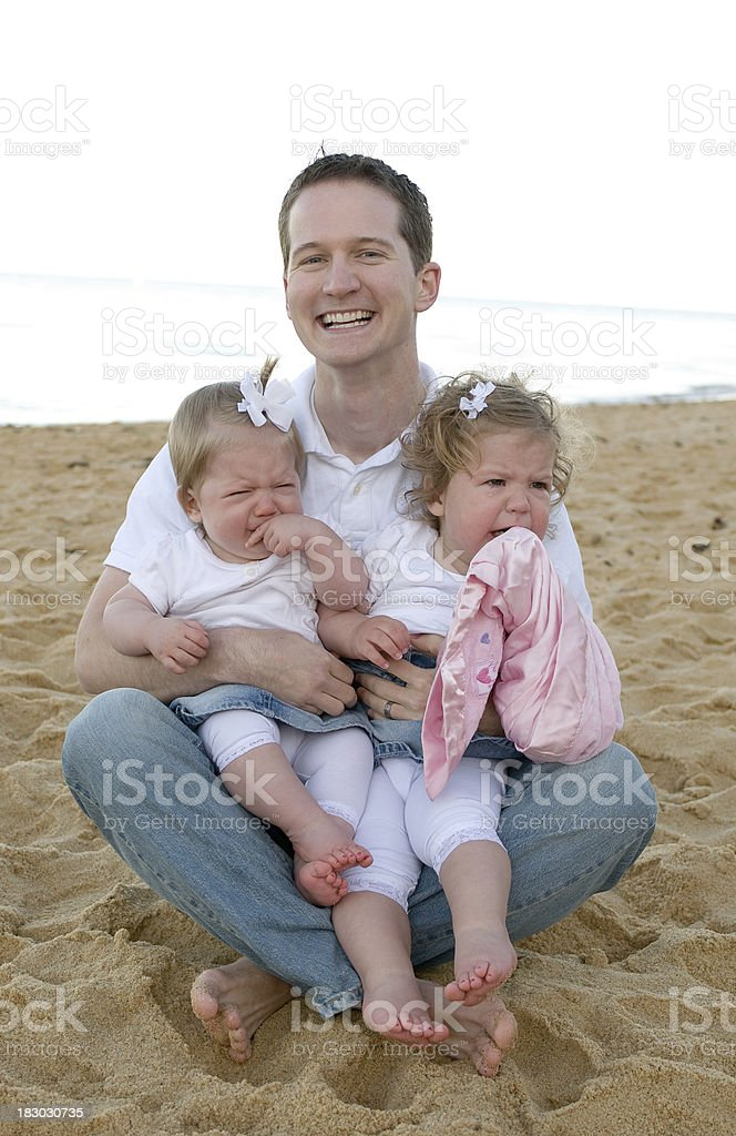With dad royalty-free stock photo