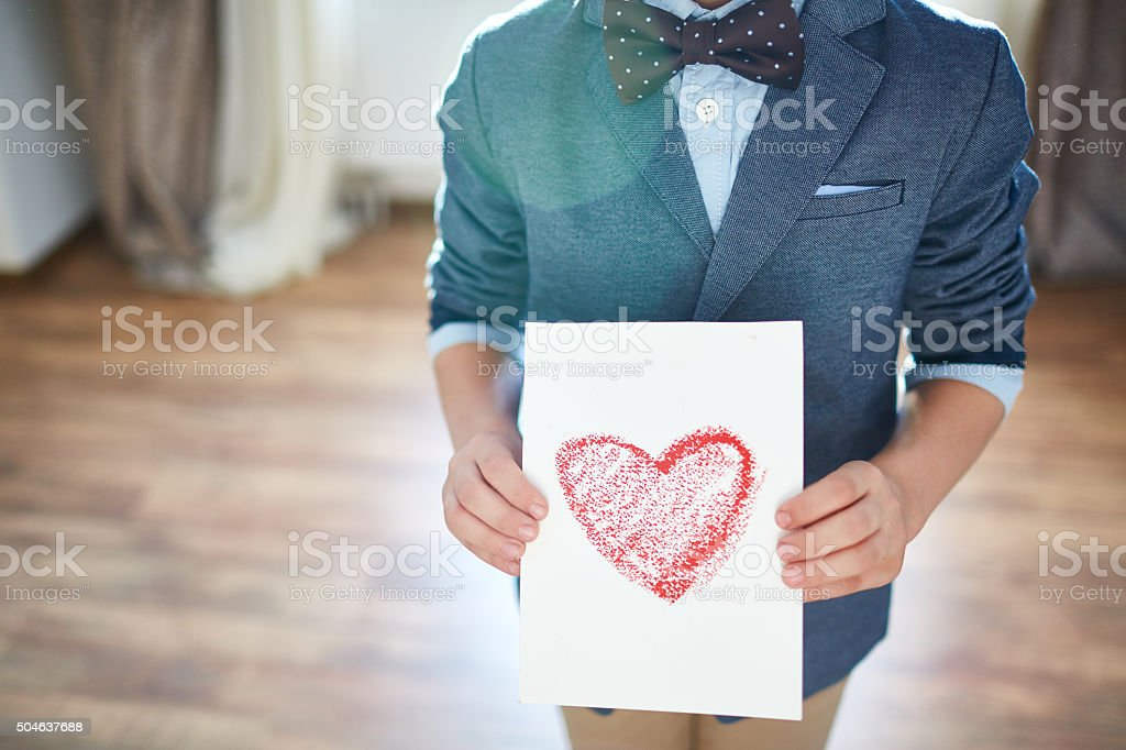 With love stock photo