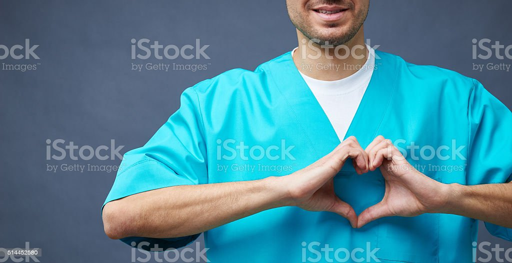 With love to patients stock photo