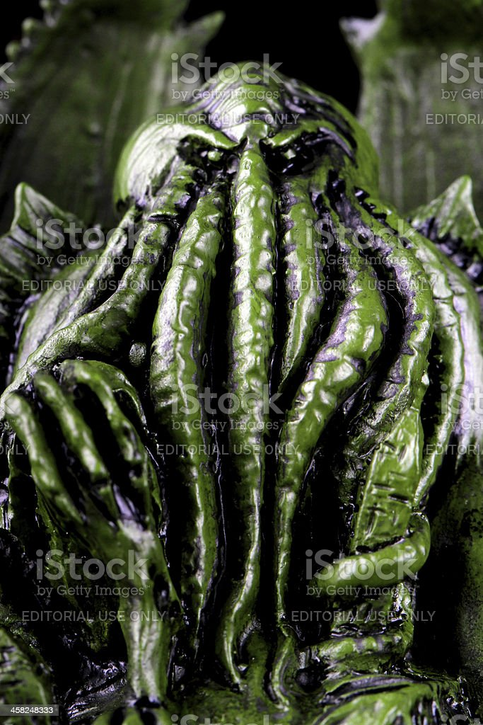 With Strange Aeons Even Death May Die royalty-free stock photo
