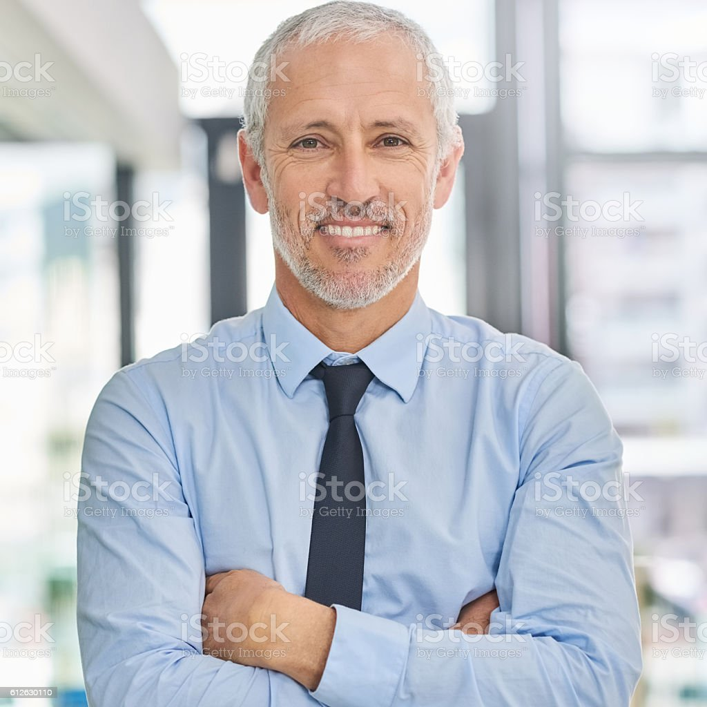 With success comes confidence stock photo