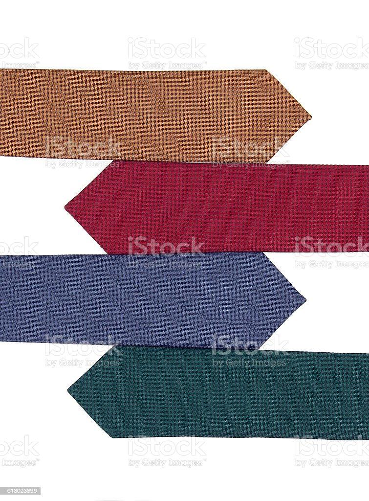 with ties stock photo