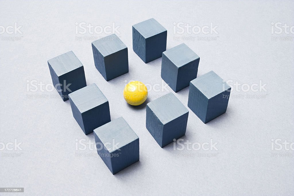 Within the square royalty-free stock photo