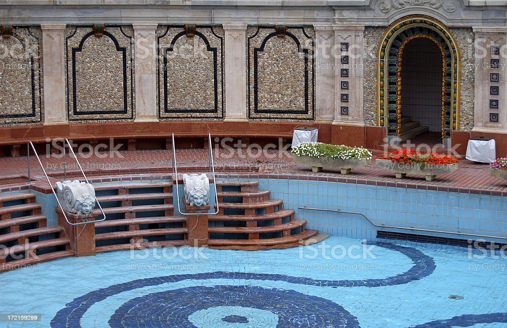 Without guests royalty-free stock photo