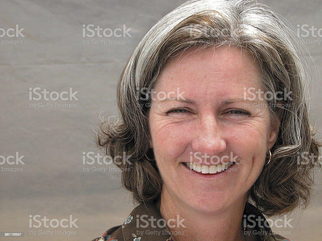 witty smile stock photo