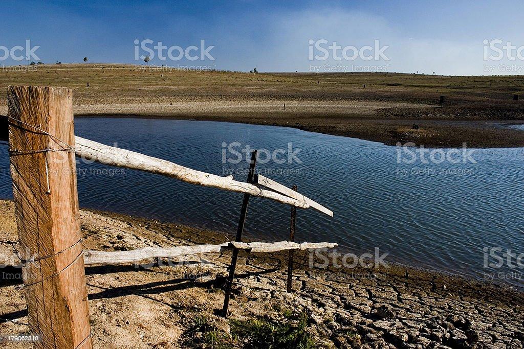 Wivenhoe Dam stock photo
