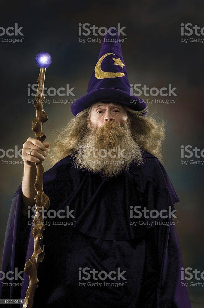 Wizard Portrait stock photo
