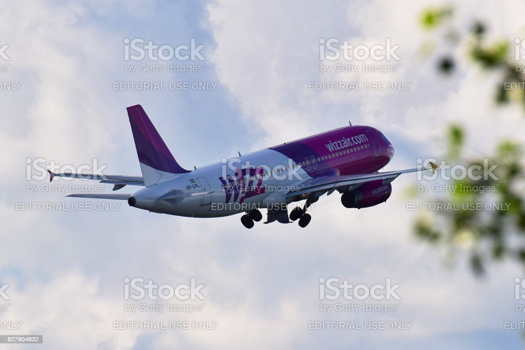 Wizz Air Airbus A320 stock photo