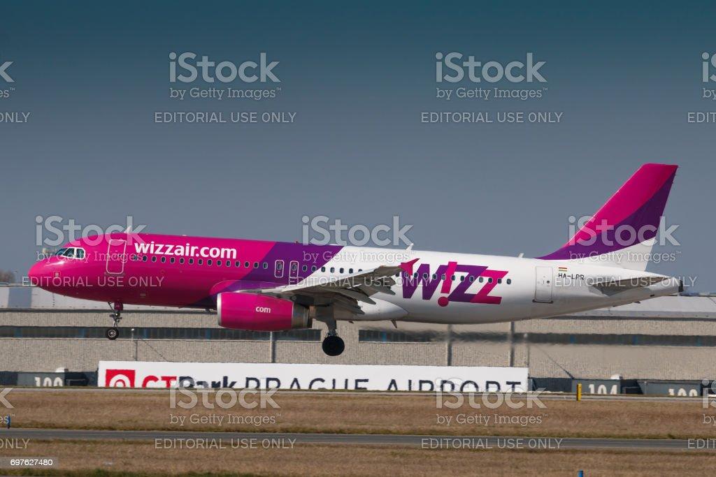 Wizzair stock photo
