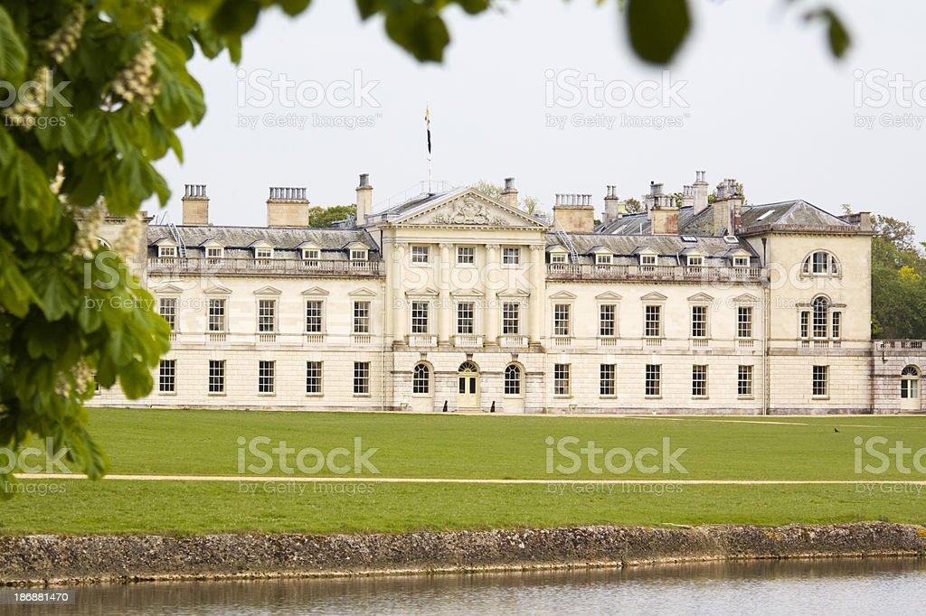 Woburn Abbey stock photo