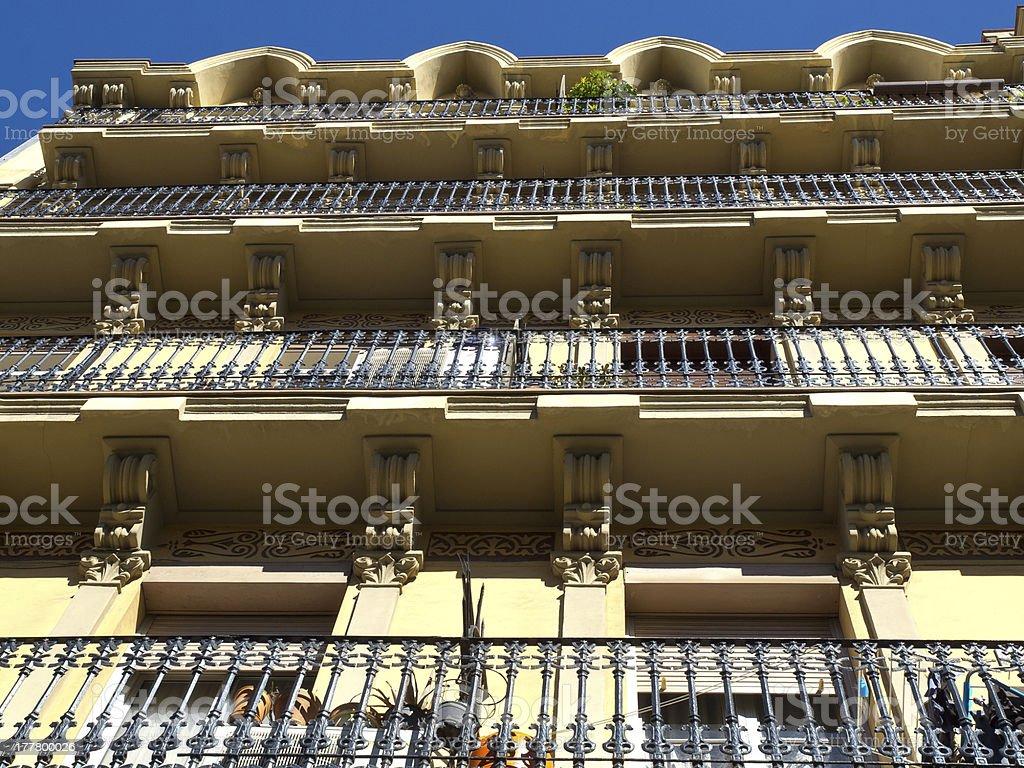 Wohnen in Barcelona stock photo