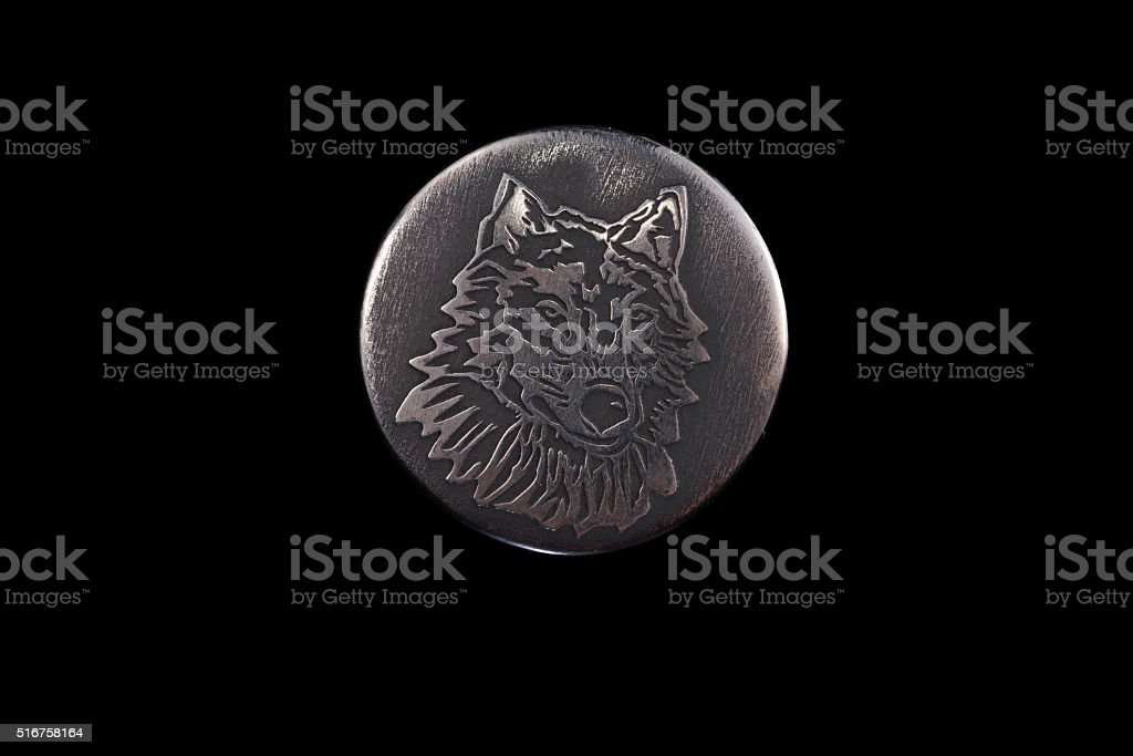 Wolf - a symbol of honor, nobility, courage stock photo