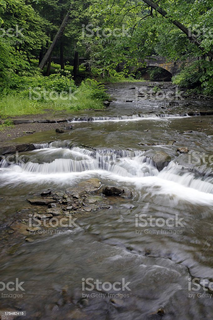 Wolf creek falls royalty-free stock photo