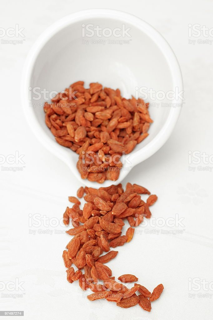 Wolfberries royalty-free stock photo