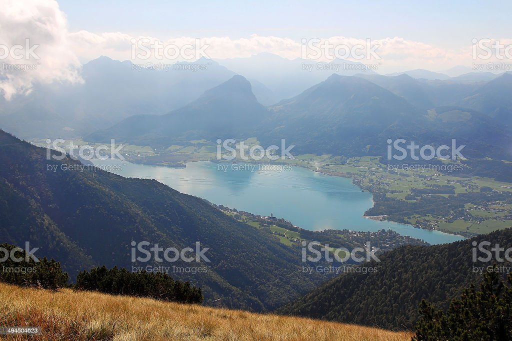 Wolfgangsee, Austria royalty-free stock photo