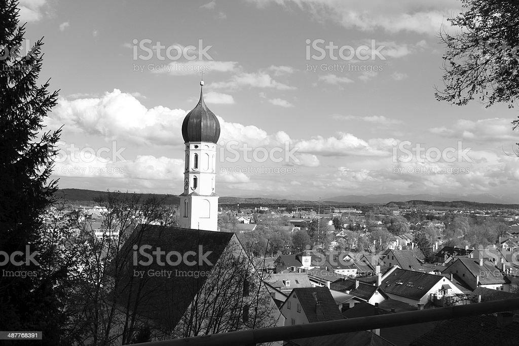 Wolfratshausen stock photo