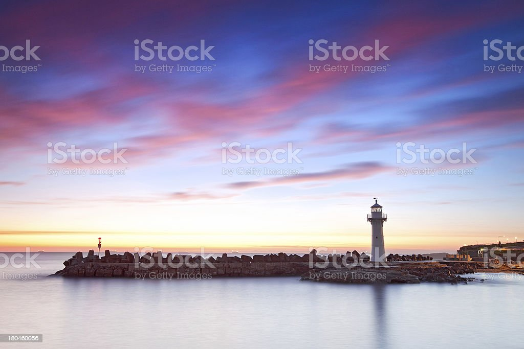 Wollongong Harbour stock photo