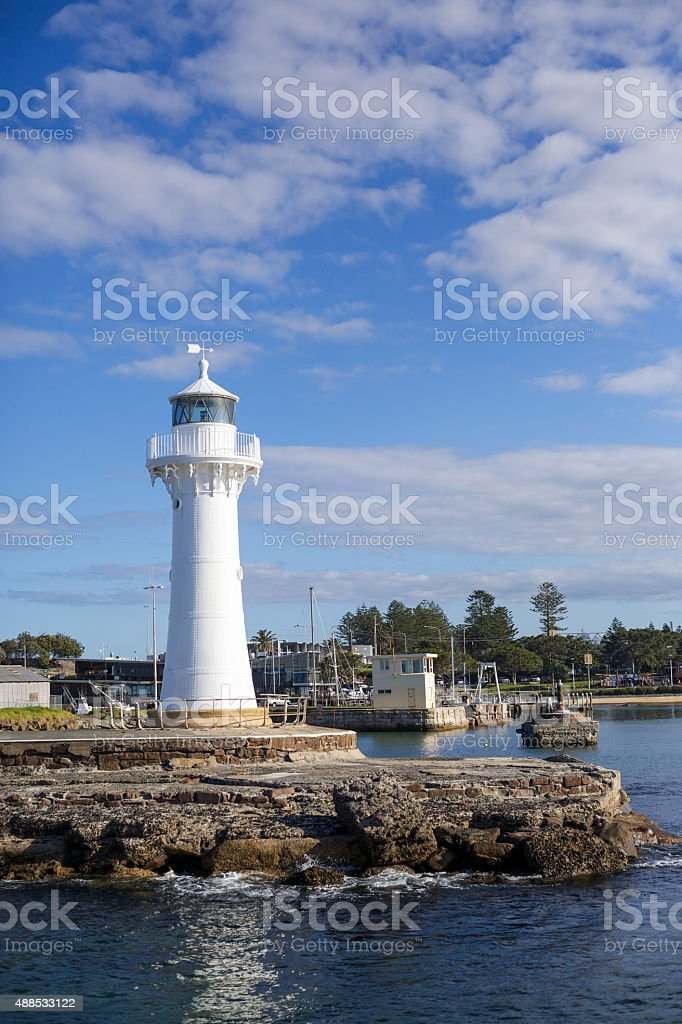 Wollongong Lighthouse stock photo