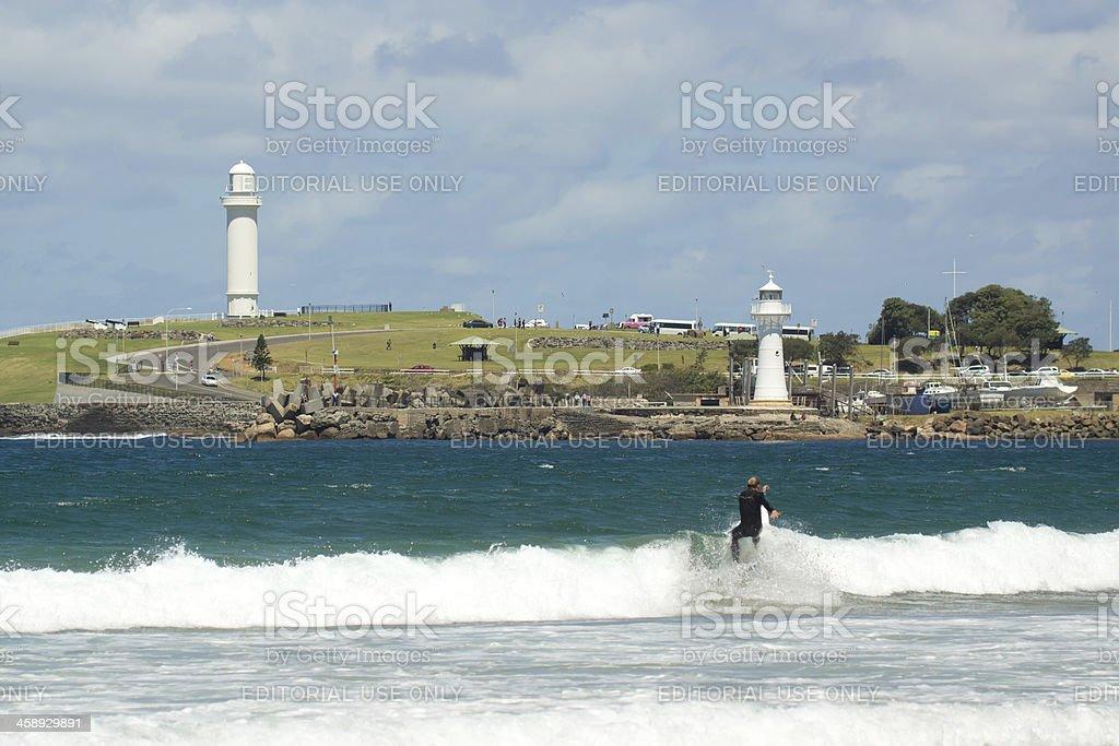 Wollongong Surfer royalty-free stock photo