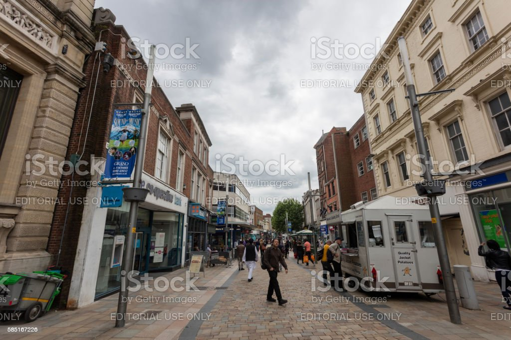 Wolverhampton stock photo