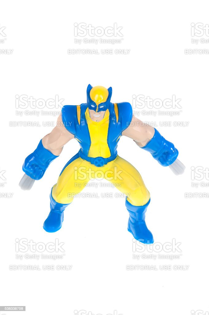 Wolverine 2010 Happy Meal Toy stock photo