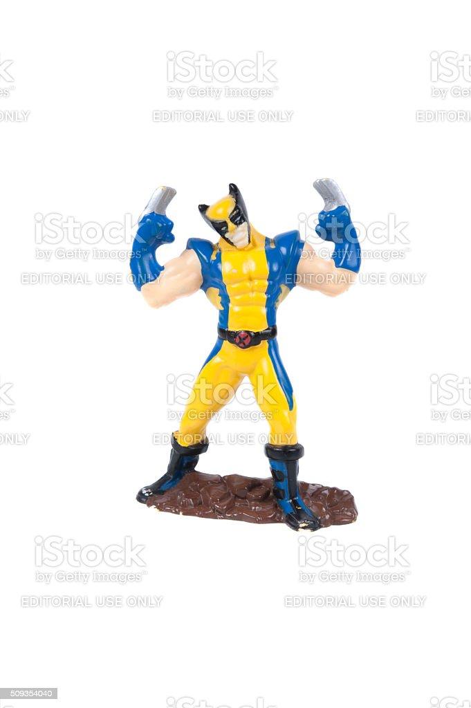 Wolverine Action Figure stock photo