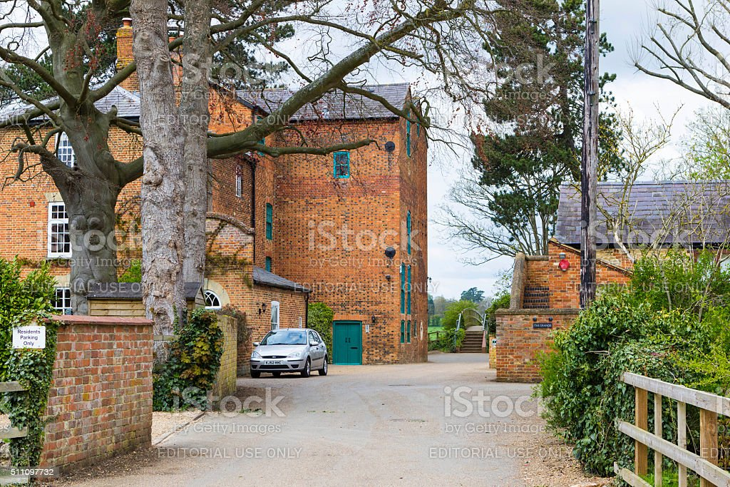 Wolverton House in Milton Keynes, England stock photo
