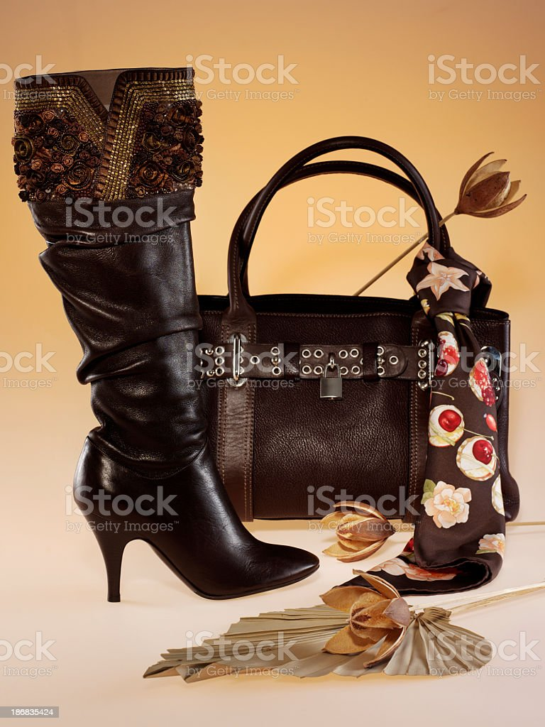 woman accessories royalty-free stock photo