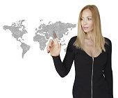 Woman and Global Business Links