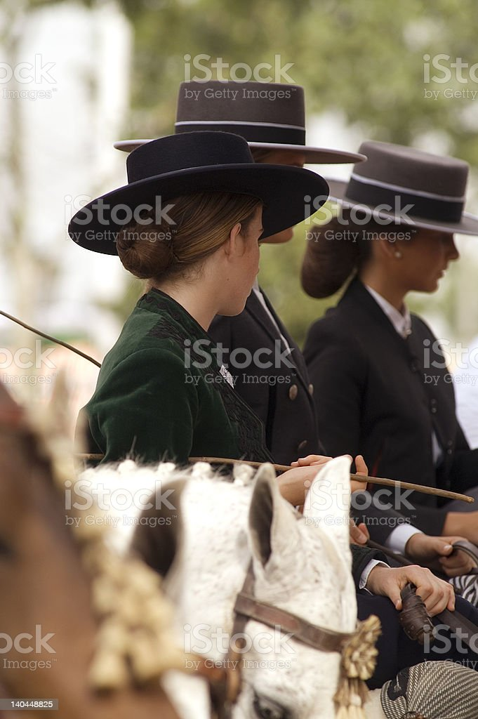 woman Andalusian royalty-free stock photo