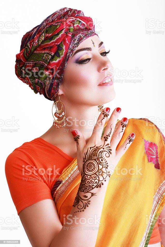 woman arabian stock photo