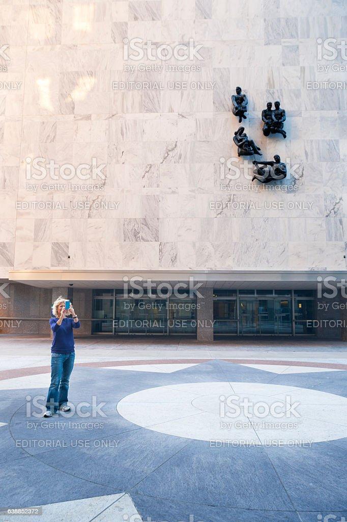 Woman at Mayo Clinic stock photo
