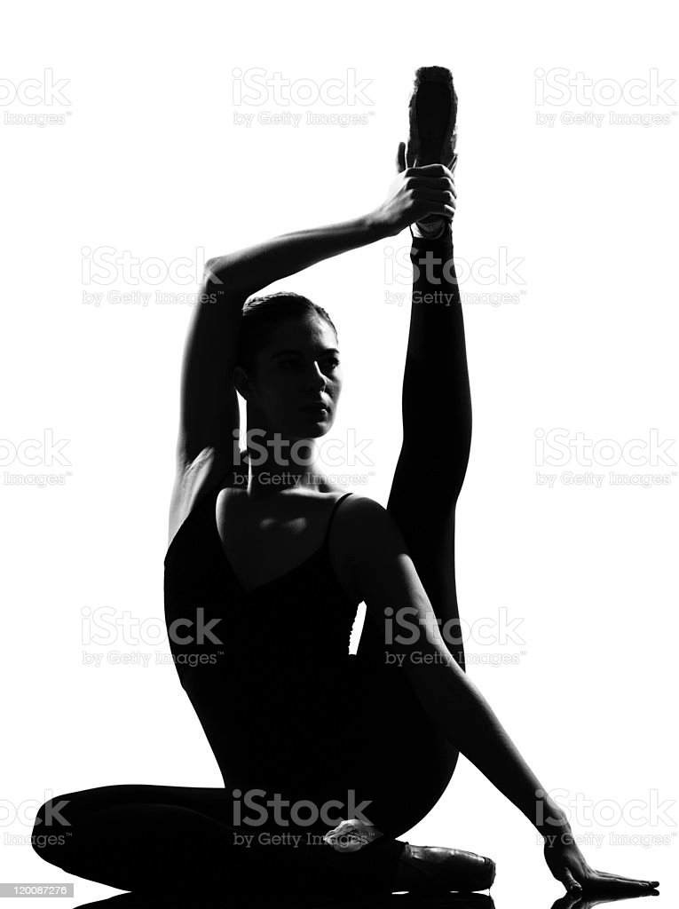 woman ballet dancer ballerina stock photo