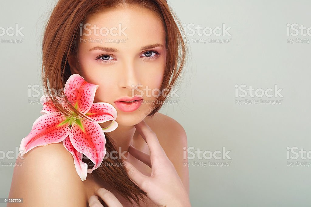 Woman beauty # 3 royalty-free stock photo