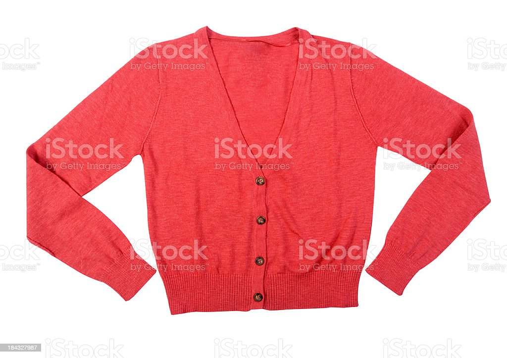 woman cardigan royalty-free stock photo