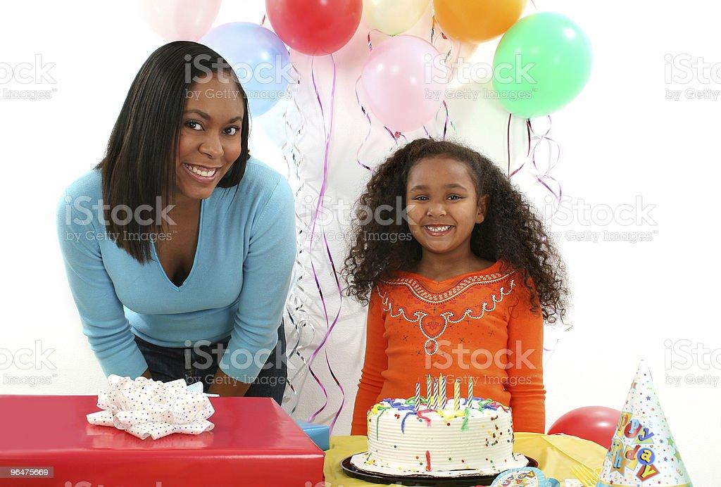 Woman, Child, Birthday royalty-free stock photo
