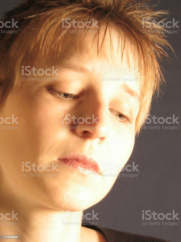 Woman Crying stock photo
