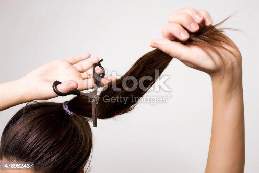 Как самой постричь каре
