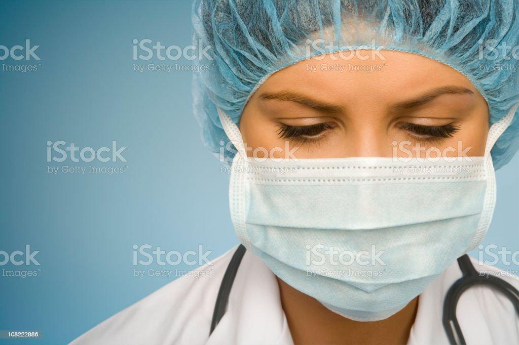 Woman Doctor Examining You royalty-free stock photo